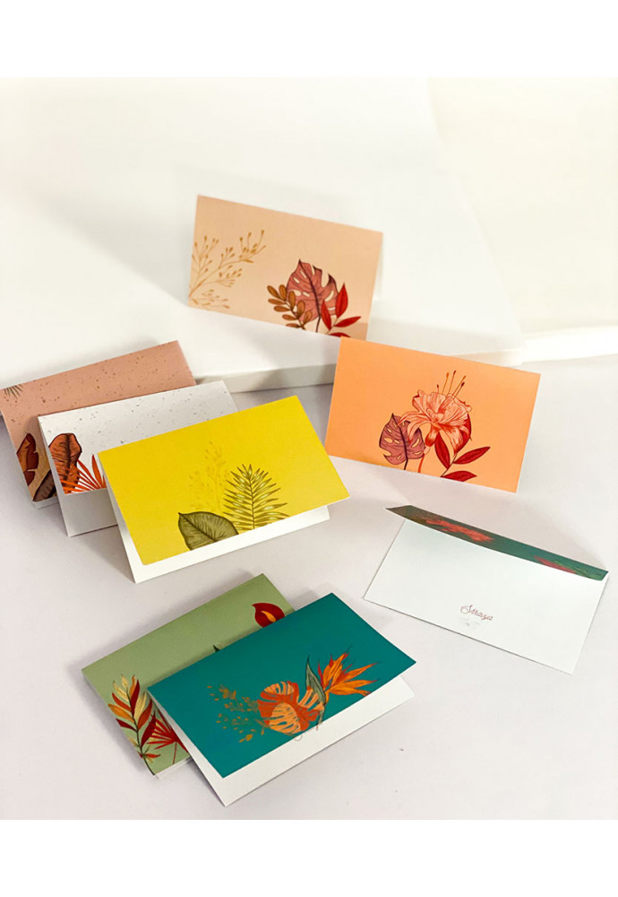 Flora Note Card | Set of 8